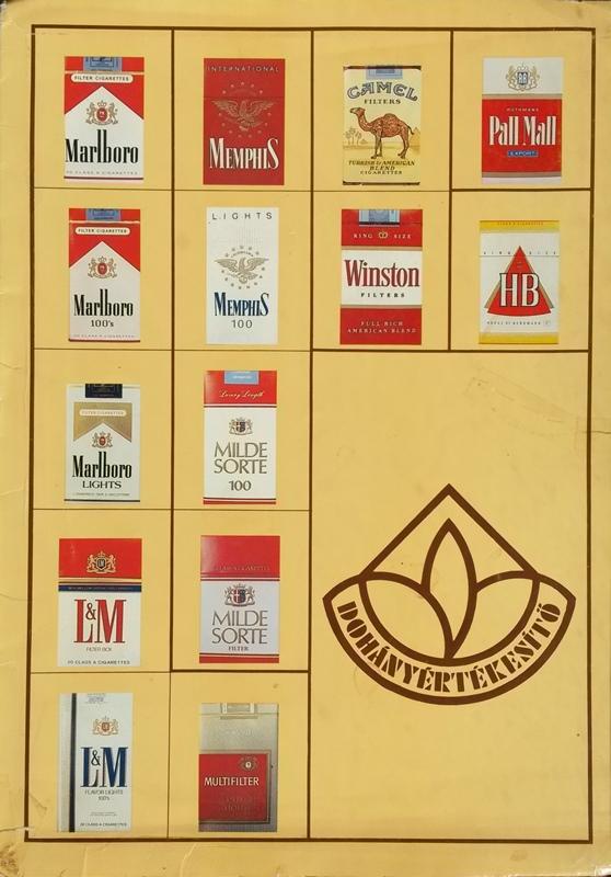 Dohányértékesítő Vállalat - Termékismertető