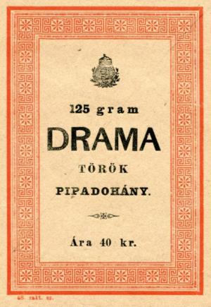 Drama pipadohány 1.