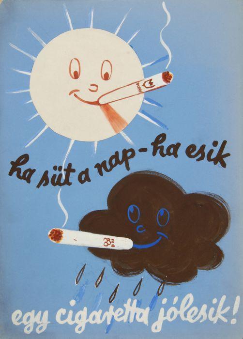 Egy cigaretta jól esik