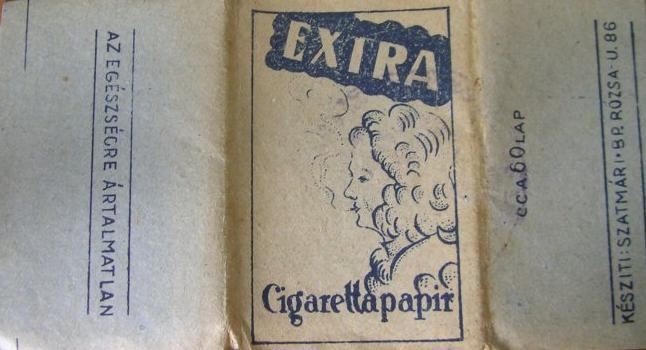 Extra cigarettapapír 2.