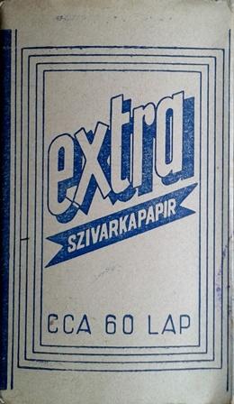 Extra cigarettapapír 1.