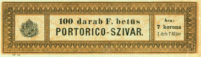 F betűs Portorico