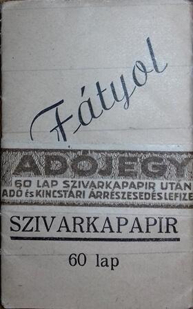 Fátyol cigarettapapír 2.