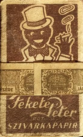 Fekete Péter cigarettapapír