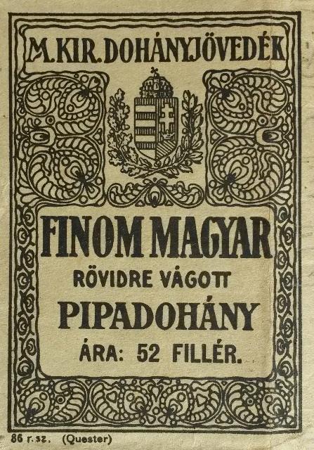 Finom Magyar rövidre vágott pipadohány 1.