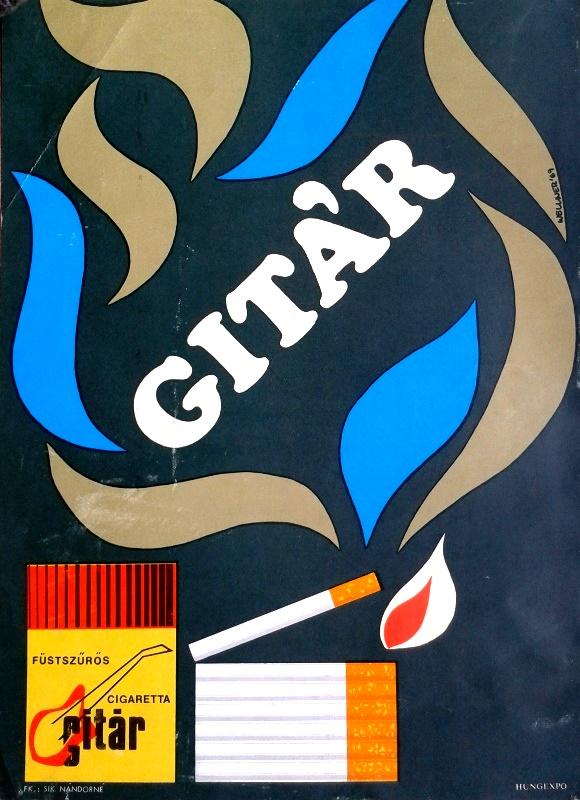 Gitár cigaretta