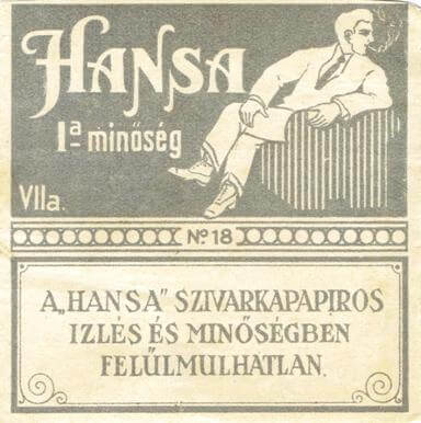 Hansa cigarettapapír