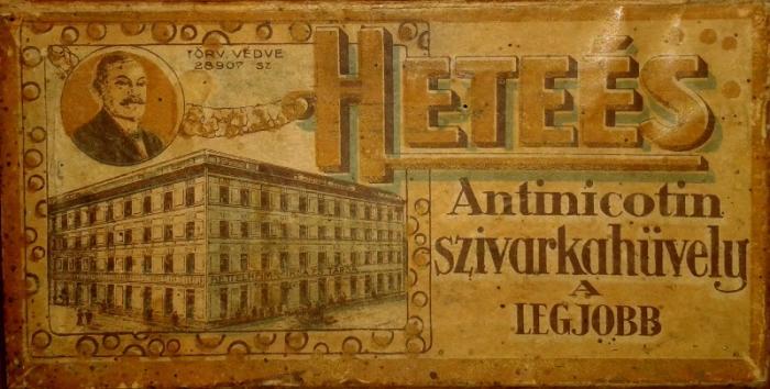 Heteés Antinicotin No.2.