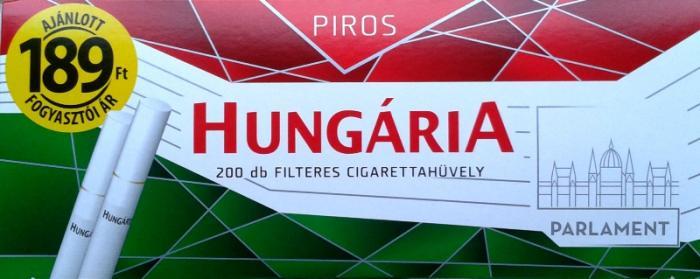 Hungária cigarettahüvely 3.