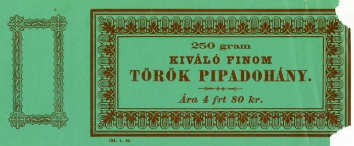Kiváló Finom Török pipadohány 1.