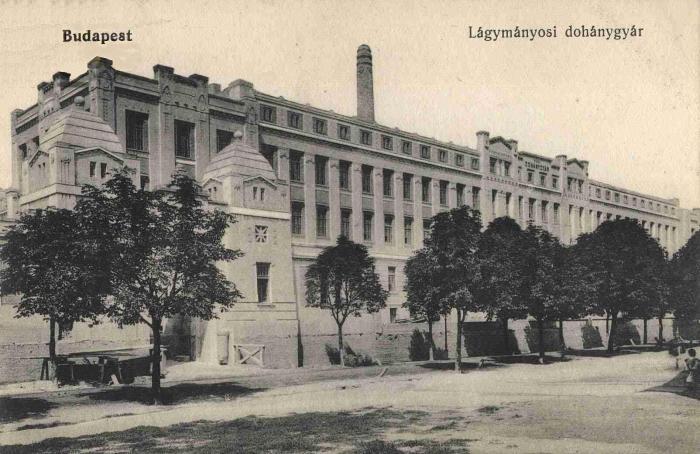 Budapest-Lágymányosi Dohánygyár