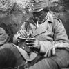 Lövészárokban, 1914.