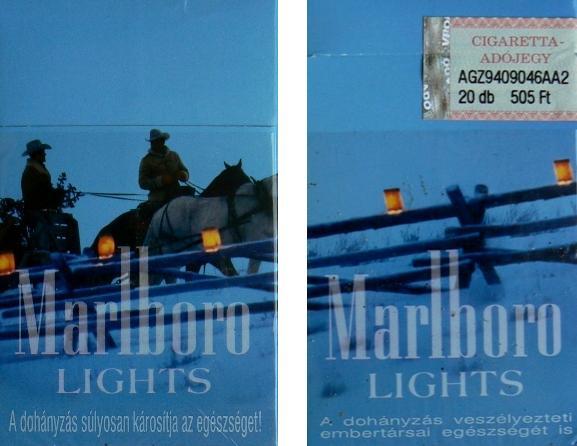 Marlboro ligth 8.
