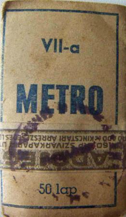 Metro cigarettapapír