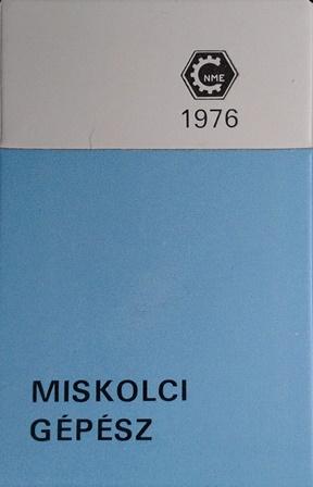 Miskolci Gépész 1976.