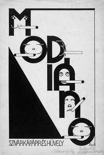 Modiano plakátterv 05.
