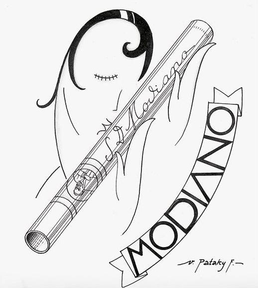 Modiano plakátterv 02.