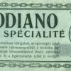 Modiano számolócédula 09.