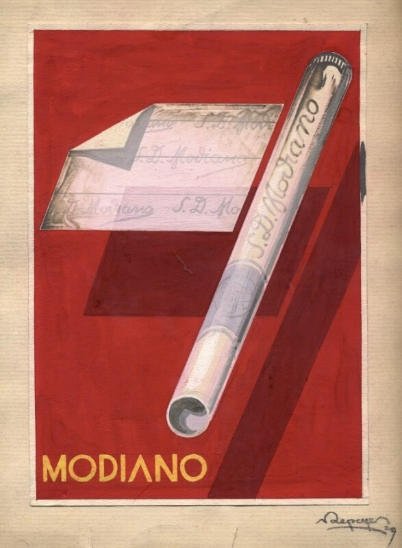 Modiano plakátterv 53.