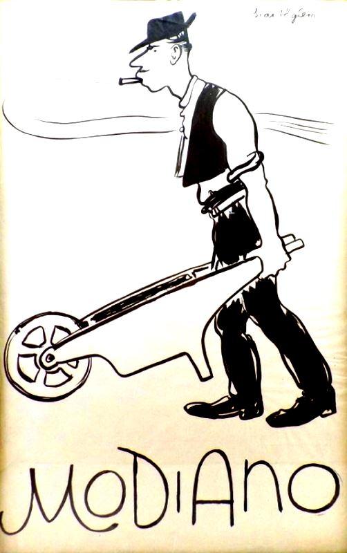 Modiano plakátterv 44.