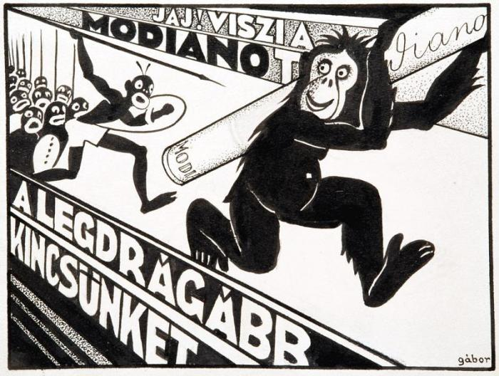 Modiano plakátterv 07.
