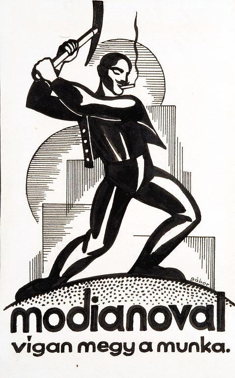 Modiano plakátterv 08.