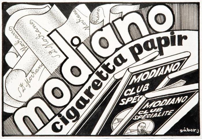 Modiano plakátterv 11.