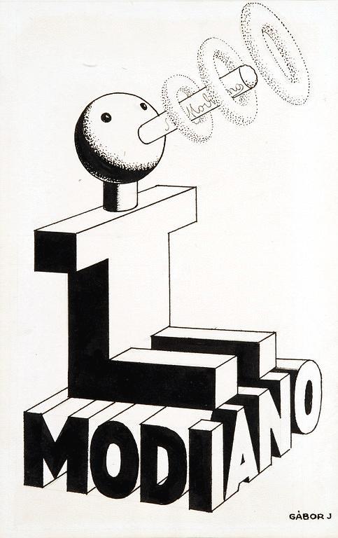 Modiano plakátterv 13.