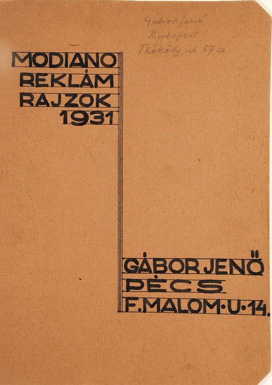 Modiano plakátterv 06.