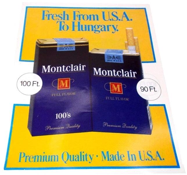 Montclair cigaretta