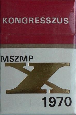 MSZMP Kongresszus 1970.