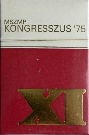 MSZMP Kongresszus 1975.