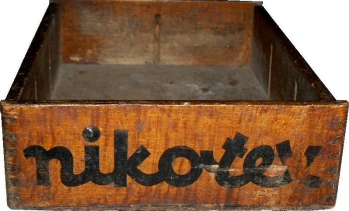 Nikotex árusító láda 2.