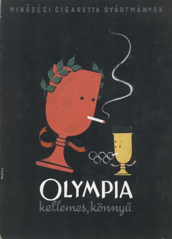 Olympia cigaretta 1.