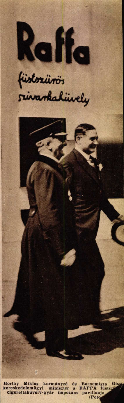 1935. Raffa cigarettahüvely