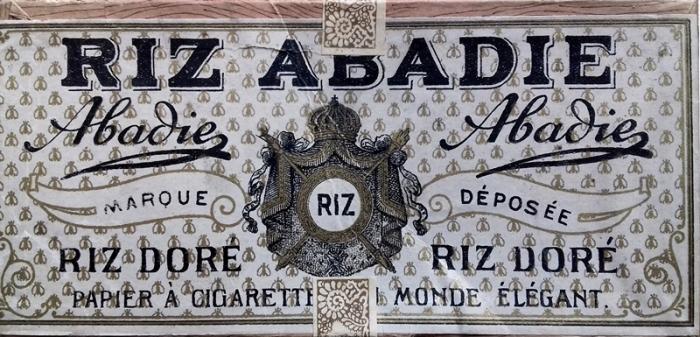 Riz Abadie Doré cigarettahüvely