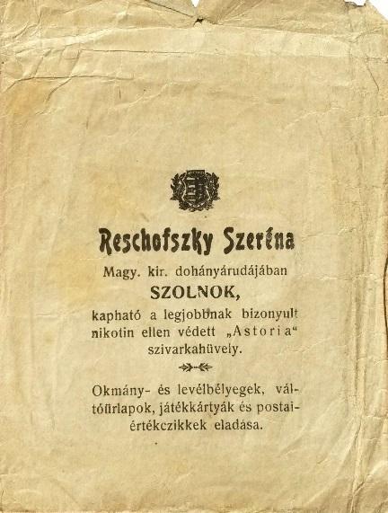 Roschofszky Szeréna árudája