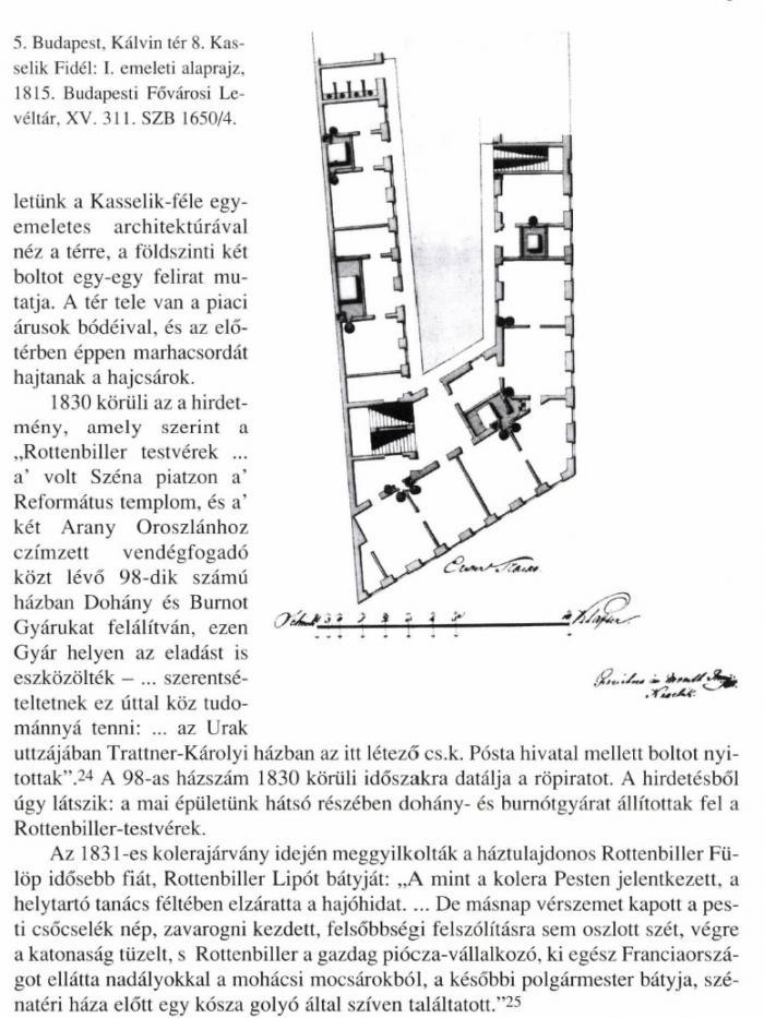 1830. Rottenbiller-féle dohánygyár