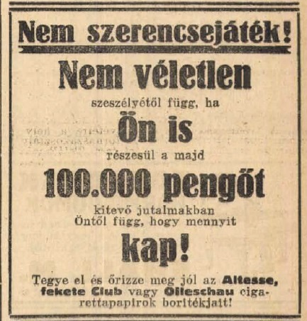 1926.02.20. Nyereményjáték