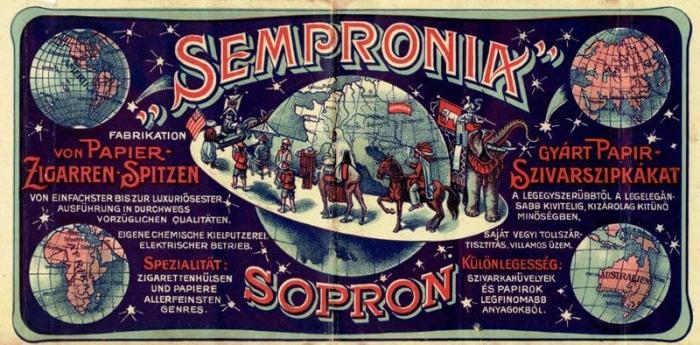 Sempronia Uno szivarszipka