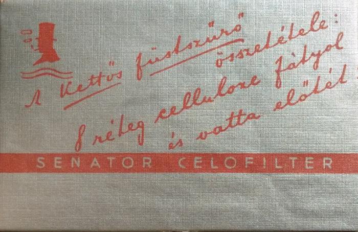 Senator Celofilter cigarettahüvely 3.