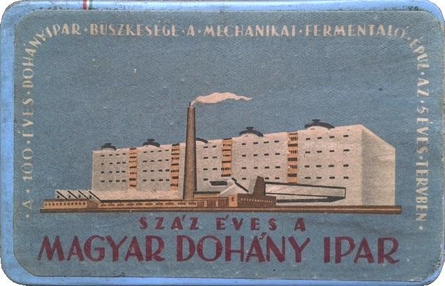 Száz éves a Magyar Dohányipar