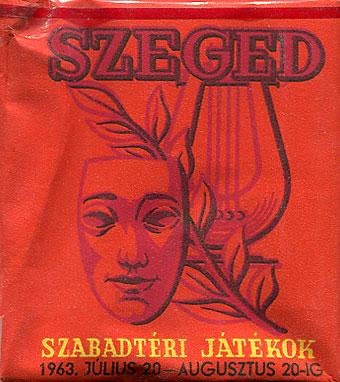 Szeged, Szabadtéri Játékok 1963.