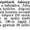 1895.08.03. Szentgotthárdi gyár