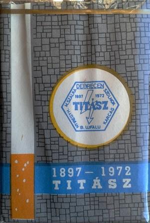 TITÁSZ 1897-1972.