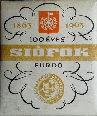 100 éves Siófok Fürdő