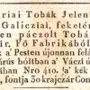 1825.02.12. Ausztriai burnótok