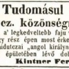 1844.08.29. Kintner dohánykereskedés