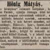 1845.08.21. Hönig Mátyás dohánykereskedő