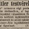 1845.11.09. Crettier dohánykereskedés